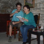 paní Michálková čte povídku