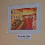 Městská knihovna Praha – ústřední knihovna – Hala s naučnou literaturou (hlavním vchodem po schodech nahoru do prostoru, kde se vypůjčují knihy, tam pak se dát vpravo)