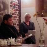18.11.2013 19:00 Autorské čtení povídek v Jindřišské věži, poezie a beseda