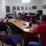 14.11.2013 Čt 8:15 – Projektový den v gymnáziu, 16:00 – komponovaný pořad pro veřejnost Básnění nás pobaví