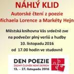 Tvůrčí dílny – Studenti GJB Ivančice se poezie nebojí