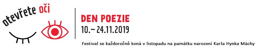 Den poezie (10 – 24.11.2019)