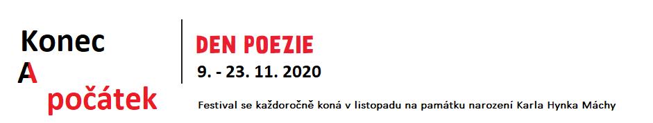 Den poezie (9. – 23.11.2020)